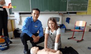 Pflasterpass Erste Hilfe Kurs in der Grundschule