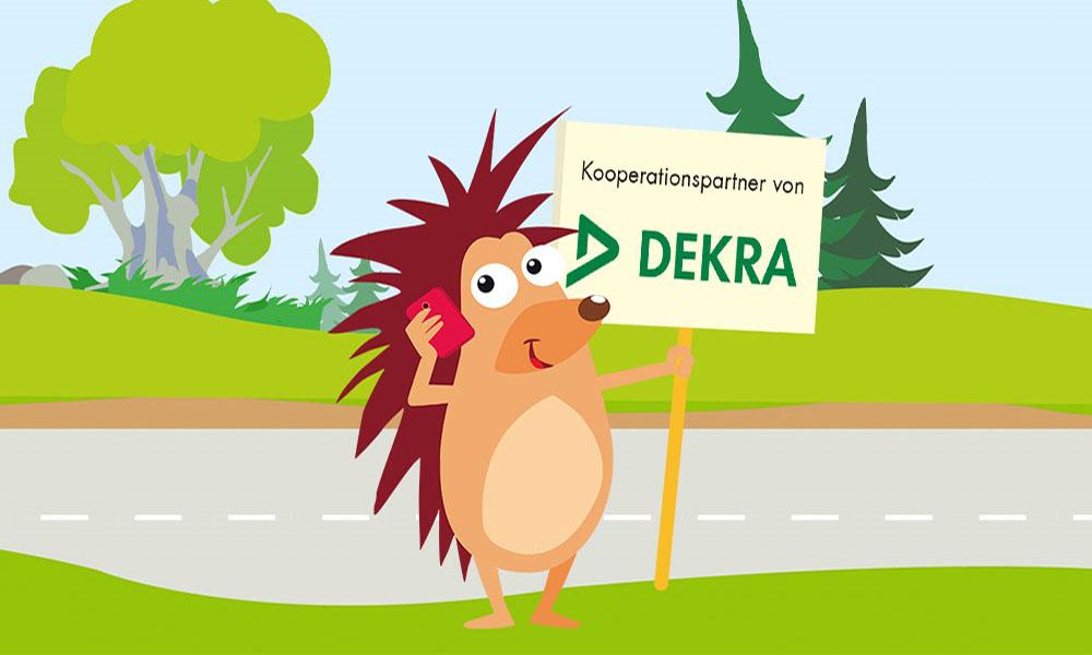 Kooperation zwischen DEKRA und der Pflasterpass gGmbH
