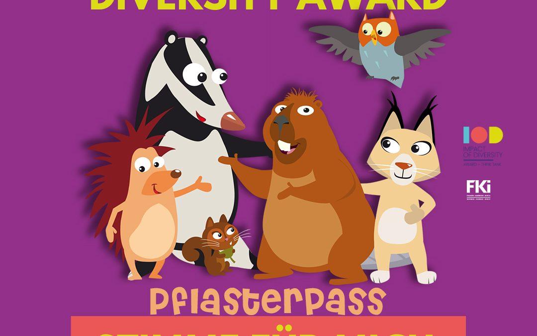 Pflasterpass® ist für den Impact of Diversity Award 2021 nominiert