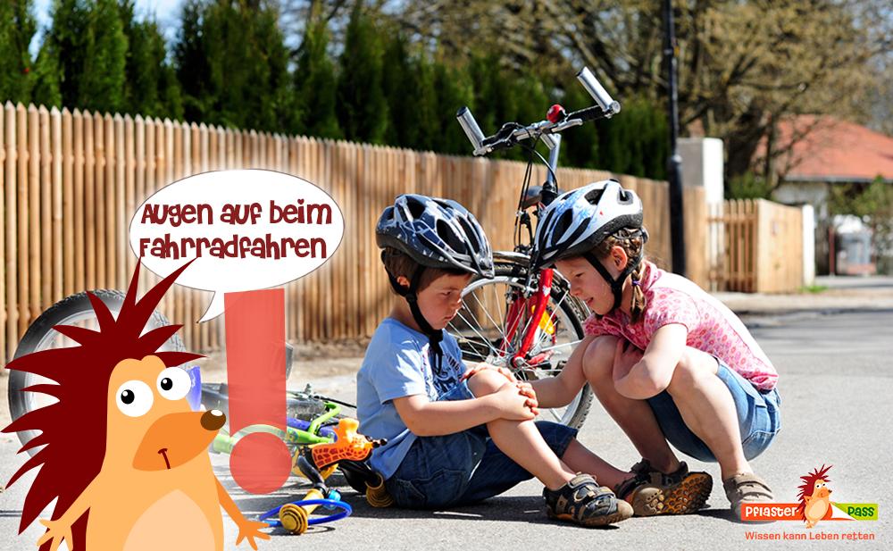 Pflasterpass® -Fahrradunfälle bei Kindern