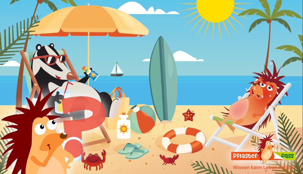 Pflasterpass® -Sonnenstich bei Kindern und Erwachsenen