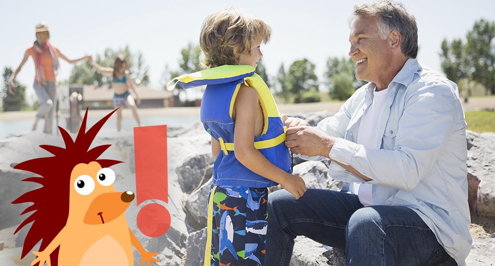 Pflasterpass® -Empfehlungen für Schwimmhilfen für (Klein) Kinder