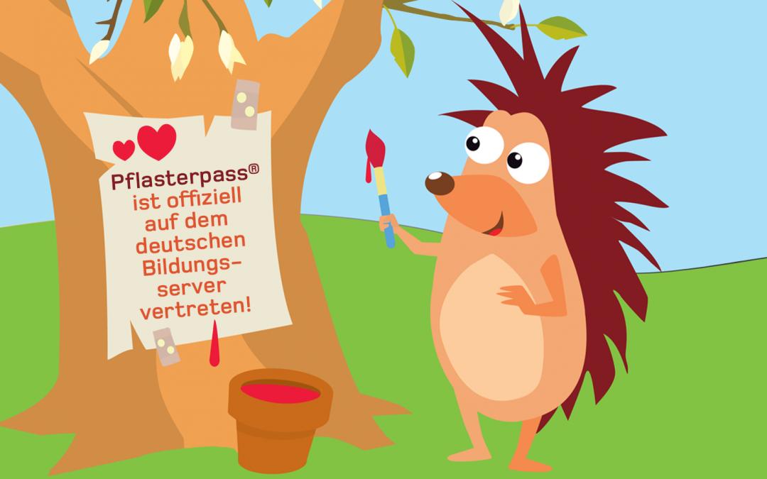 Pflasterpass® -Deutscher Bildungsserver Eintrag
