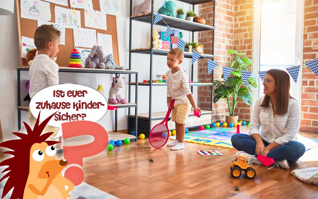Pflasterpass® -Ist euer Zuhause kindersicher?